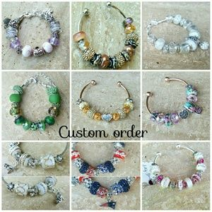 Salty Grace  Jewelry - Custom order a charm bracelet