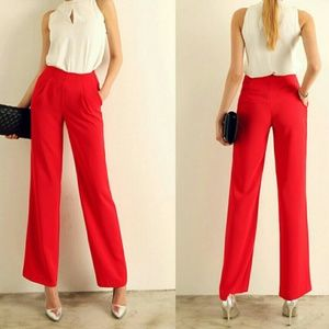 2 FOR $10 ❤ Vintage Red Trousers