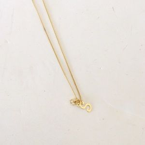 S Mickey Mouse Disney Necklace