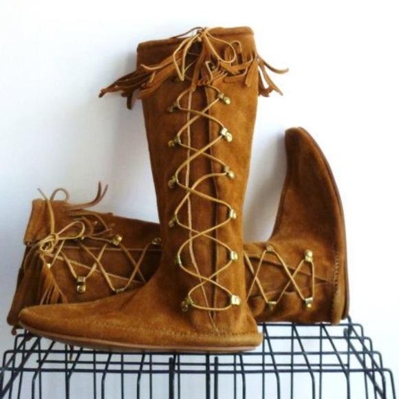 Minnetonka Shoes | Vintage Fringe