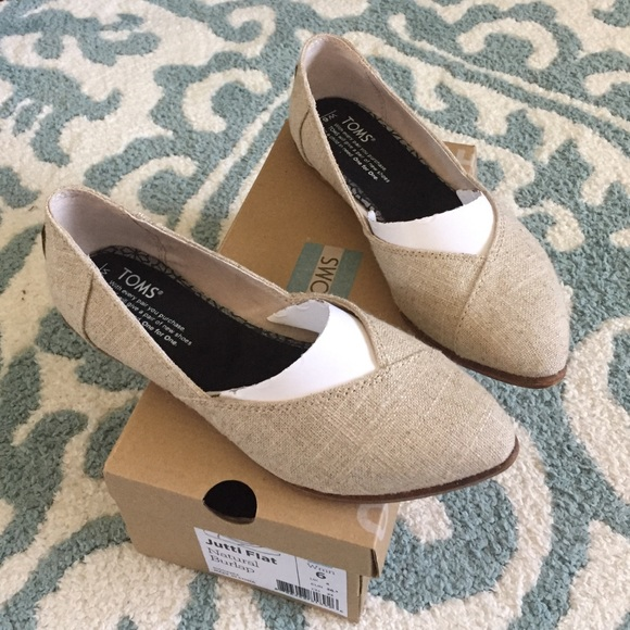 5fea01b8f TOMS Shoes | Jutti Flat | Poshmark