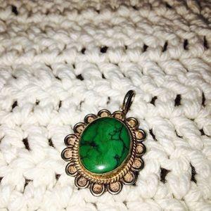 Jewelry - .925 Turquoise pendant