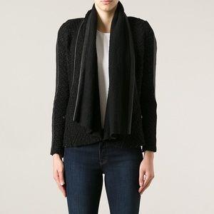 Ito Jamirel leather trim jacket