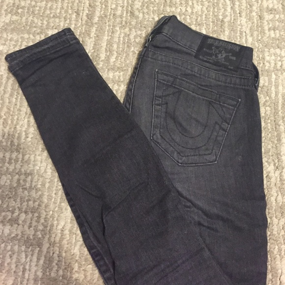 fa1213feb M 56f1a3c42599fef535009670. Other Jeans you may like. TRUE RELIGION SKINNY  JEANS. TRUE RELIGION SKINNY JEANS.  35  150. Women s True Religion Jennie  curvy ...