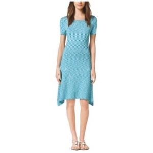 MICHAEL Michael Kors Dresses - Micheal kors XS tile blue dress