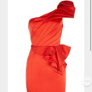 Karen millen red dress.