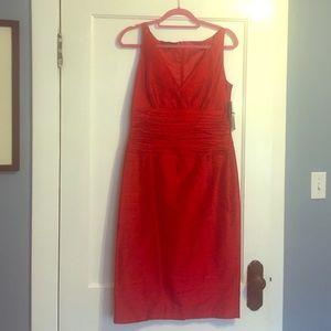 Lafayette 148 New York Dresses & Skirts - SALE!🎉NWT raw silk Lafayette 148 dress. Stunning!