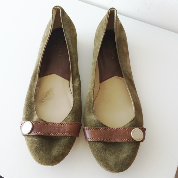 MICHAEL Michael Kors Shoes - MICHAEL Michael Kors Suede Flats