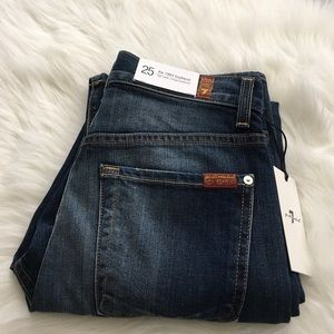7 for all Mankind Denim - 7FAM the 1984 boyfriend, vintage