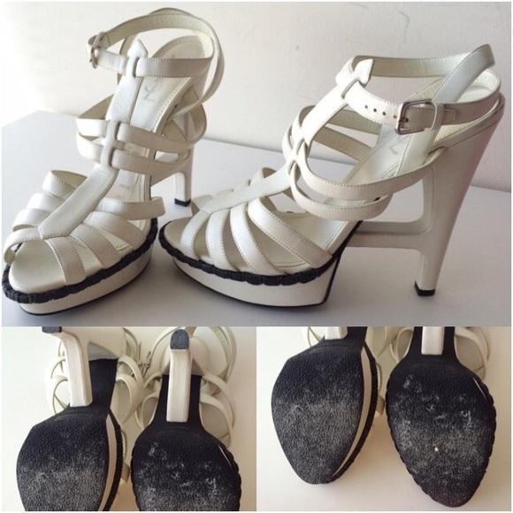 Yves Saint Laurent Shoes - YSL Essentiel 105 T-Strap Sandals