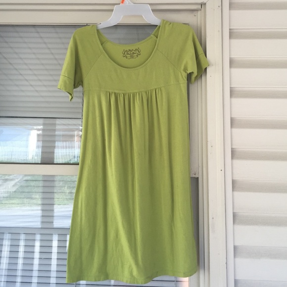 1b273c09de4 Duck Head Dresses   Skirts - Lime Green Duck Head T-Shirt Dress