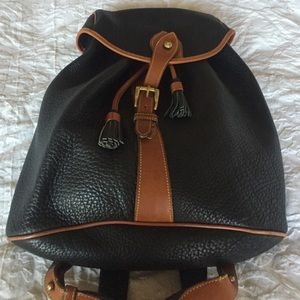 Dooney and Bourke leather backpack