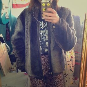 Jackets & Blazers - Faux fur coat in perfect condition