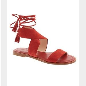 Banana Republic lace-up sandals