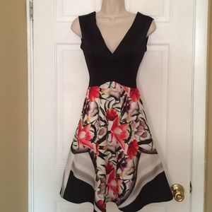 Clover Canyon floral dress nwt size Small
