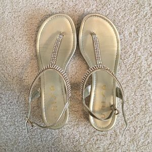 9d8a34406be4 Unisa Shoes - Gold Jeweled Sandals