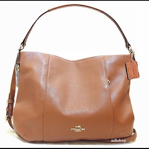 3b74070ee33b Coach Handbags - Coach Isabelle Pebbled Leather Hobo