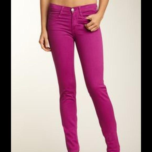 ce2931604021d White House Black Market pink fuchsia skinny jeans.  M_56f8954c6d64bca22d08c52f
