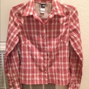 North Face Flannel
