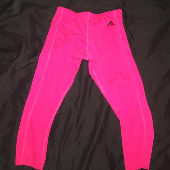 Hot Pink Adidas Athletic Leggings!