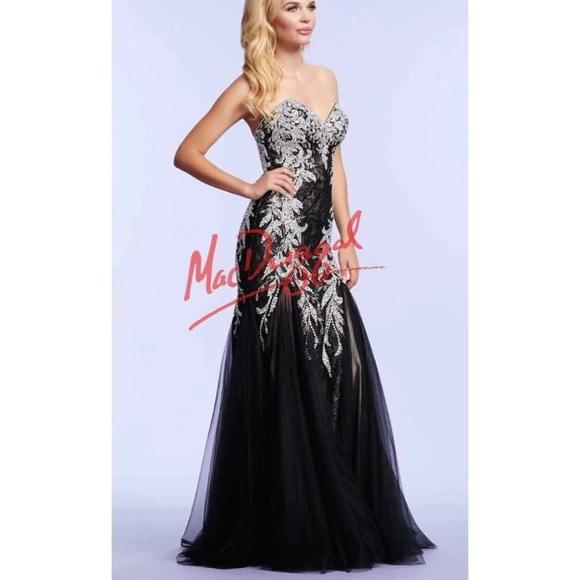 Mac Duggal Dresses | Prom Dress Black 81901r | Poshmark