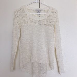 American Rag Sweaters - XS White Knitted Sweater