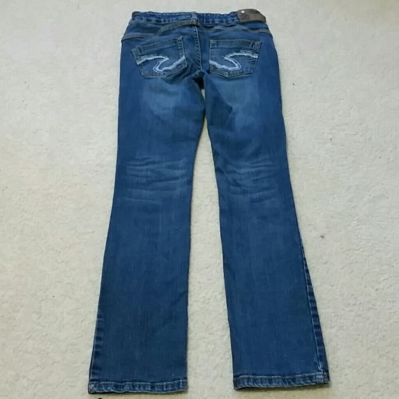 Silver Jeans - Girls sz 12 bootcut Silver jeans adjustable waist ...