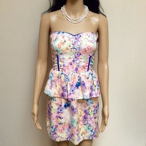 Sugarlips Dresses & Skirts - Multi kiwi floral dress