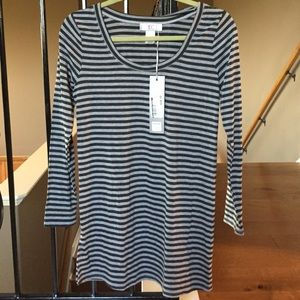Everly Grey Tops - NWT Everly Grey Striped Tunic Maternity XS