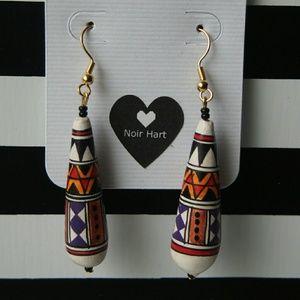 Vintage Peruvian Drop Earring