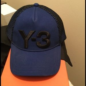 Y-3 Accessories - Authentic Y3 Unisex Truckers Hat