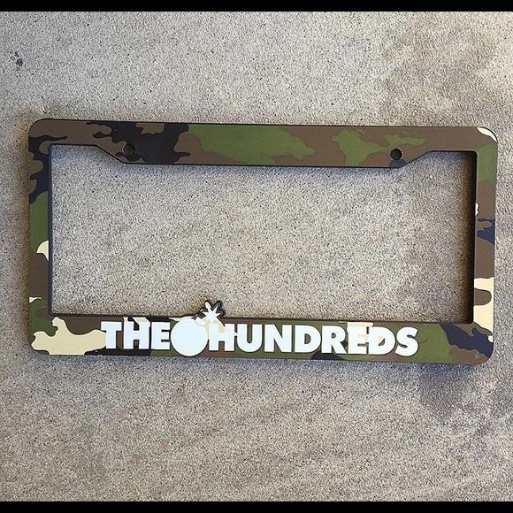 The hundreds Other | Hundreds License Plate Frame | Poshmark