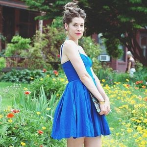 BB Dakota Dresses & Skirts - Sale! Bold Cobalt Blue Bustier BB Dakota Dress