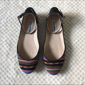 Steve Madden Shoes - Steve Madden colorful ballet flats w/strap 7