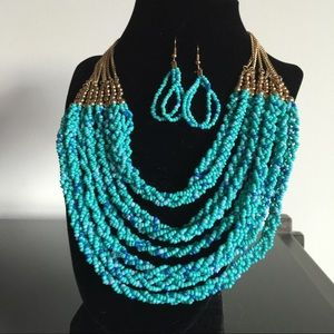 Jewelry - 🎉Ocean Breeze Necklace&Earring Set