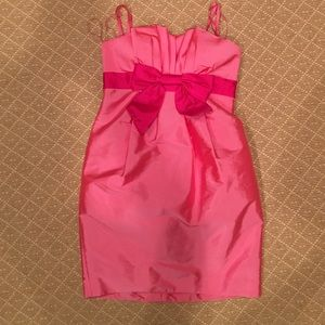 Aidan Mattox Dresses & Skirts - Aidan Mattox Pink Bow Party Dress