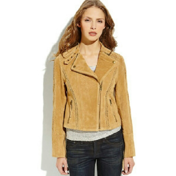Jackets & Blazers - ☆SOLD☆ Ookie & Lala 100% Leather Tan Suede Jacket