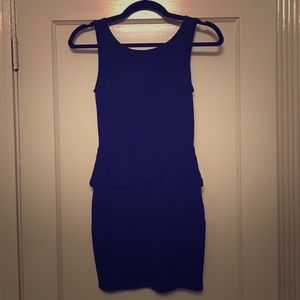 214d09b8 Zara Dresses | Trafaluc Collection Peplum Dress | Poshmark