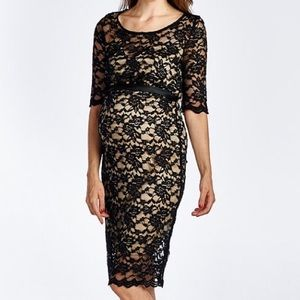 Dresses & Skirts - Maternity Lace Dress
