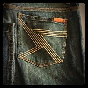 Flynt women's seven jeans perfect condition