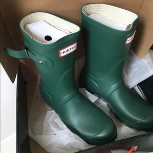Hunter Original Short Hunter Green rain boot