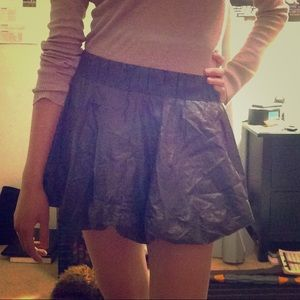 Gap Body Fit Charcoal Skirt