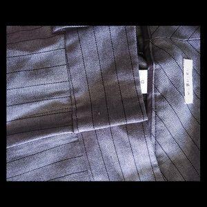 Halogen women's brown pinstripe trousers