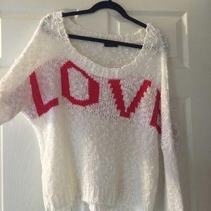 Oversized sweater LF