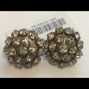 J. Crew Jewelry - NWT J.Crew earrings vintage gold