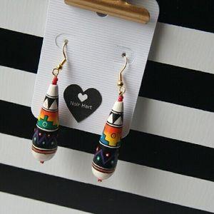 Noir Hart Jewelry - Vintage Peruvian Drop Earrings
