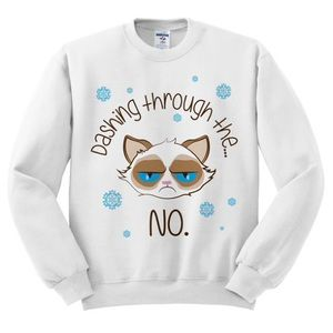 Sweaters - Dashing Through The No