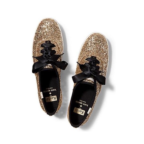 Iso Gold Glitter Kate Spade Keds