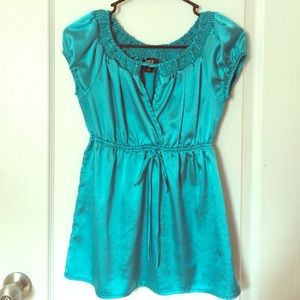 A. BYER Tops - Gorgeous Teal Top