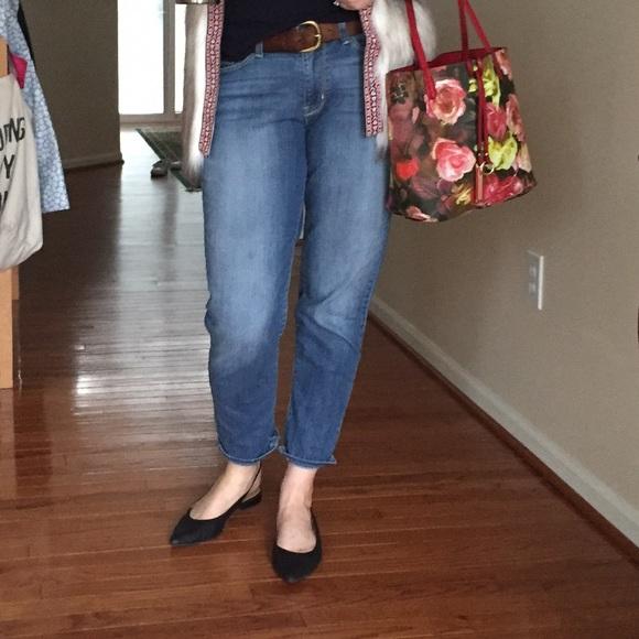 fa37468a Levi's Jeans | Denizen By Levis Modern Straight Crop | Poshmark